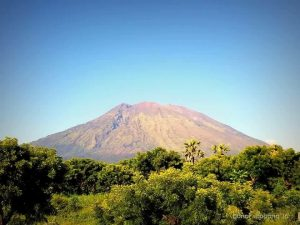 Taxi to Mount Agung