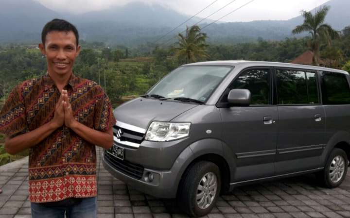 World heritage rice teracce at Jati Luwih on the Bedugul and Tanah Lot temple tour